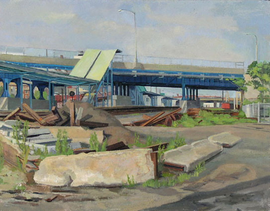 Hunter's Point Station | Size 14 x 18 in. | 2004