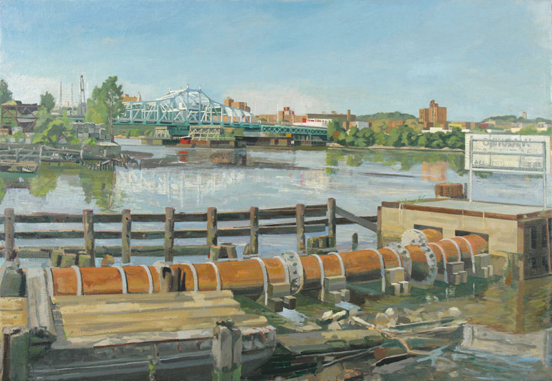 Across the Harleem River | Size 25 x 36 | 2008