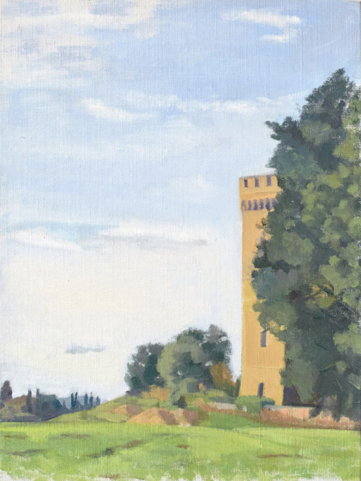 Borgo | Oil / Canvas Board | Size 9 x 12 in. | 2013